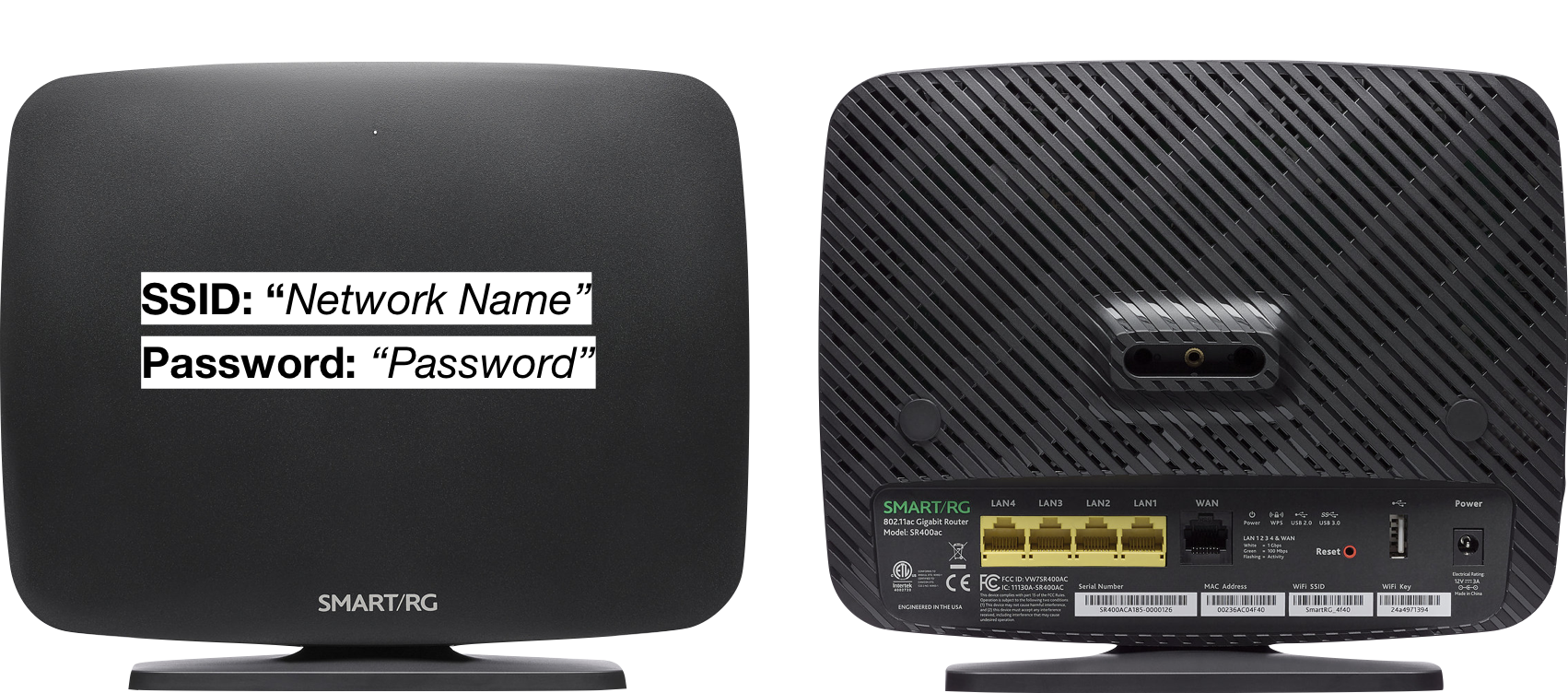 Quickstart Frog Hardwiring Internet In House If Youre Using The Router Provided By Its Already Configured And Ready To Provide Your Home With Awesomely Fast Wi Fi Four Yellow Ports On Back